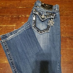 Miss Me easy boot Jean size 27